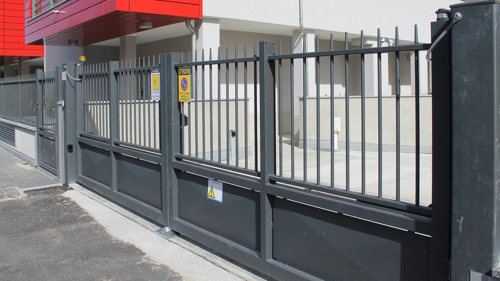 Cancelli e recinzioni - Modello Conica
