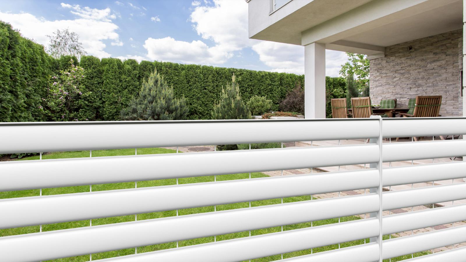 Cancelli e recinzioni - Modello Linear piano orizzontale