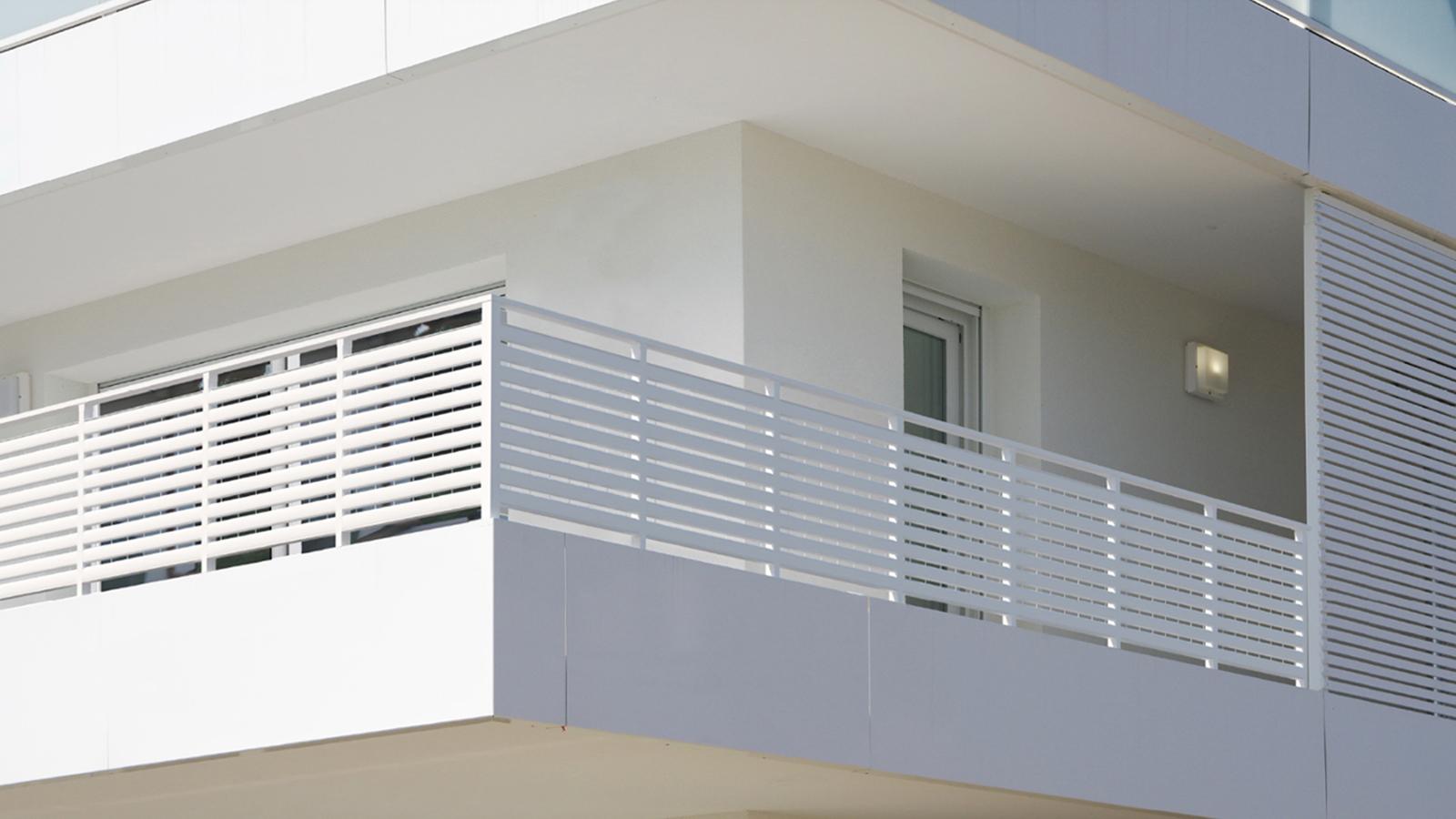 Cancelli e recinzioni - Modello Parapetti e balaustre