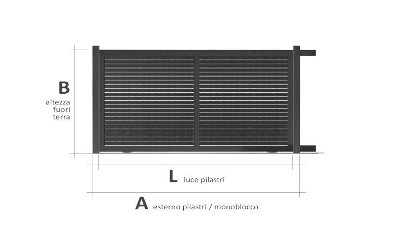 Linear piano orizzontale
