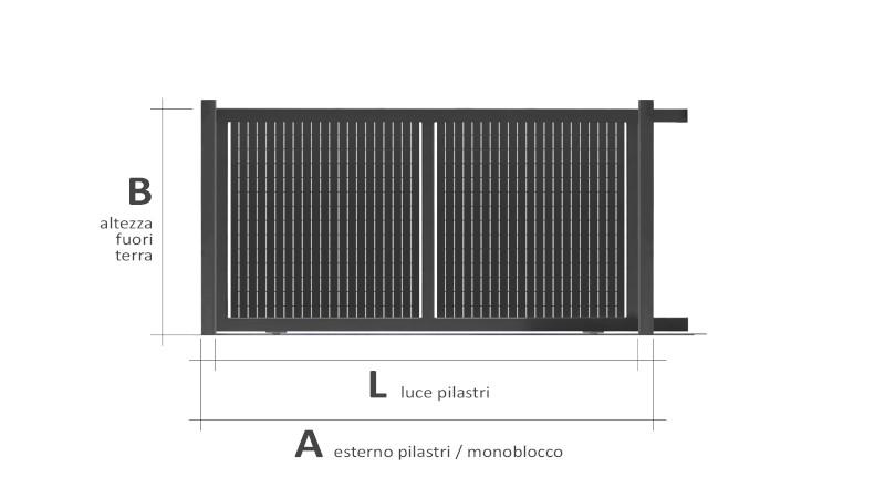 Linear piano verticale